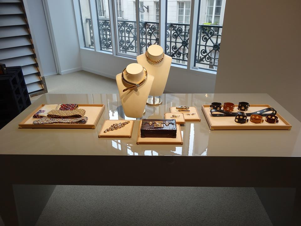 Louis Vuitton Pressday 2015 Paris Showroom Schmuck