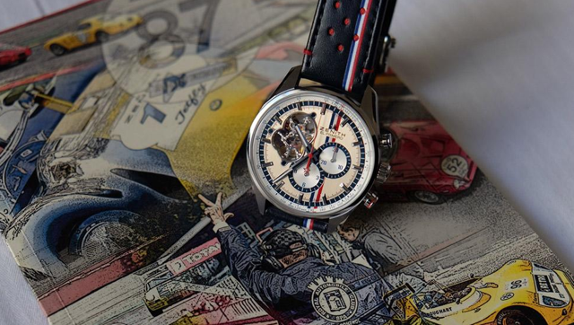 Tour Optic 2015 Paris Gentleman Driver 7 Zenith Watch