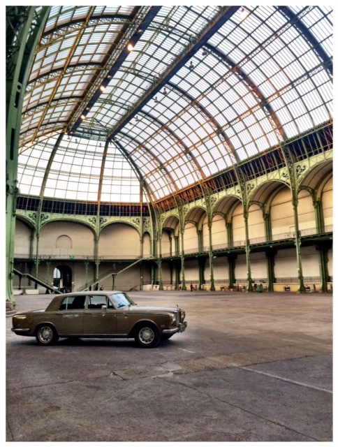 Tour Optic 2015 Paris Gentleman Driver Rolls Royce Silver Shadow